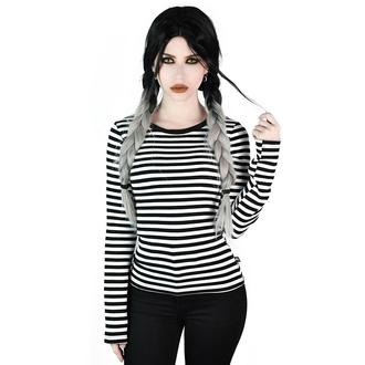 T-shirt à manches longues pour femmes KILLSTAR - Jett - BLANC, KILLSTAR