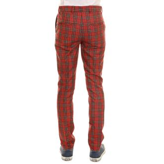 pantalon hommes 3RDAND56th - 60'S MOD TARTAN SLIM FIT TRS, 3RDAND56th