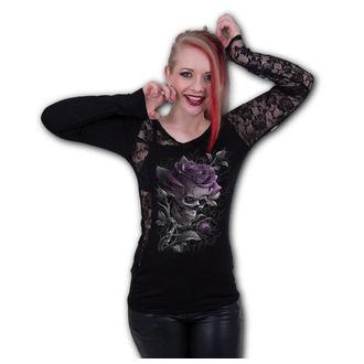 t-shirt pour femmes - SKULL ROSE - SPIRAL, SPIRAL
