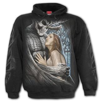 sweat-shirt avec capuche pour hommes - DEVIL BEAUTY - SPIRAL