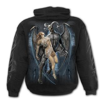sweat-shirt avec capuche pour hommes - DEVIL BEAUTY - SPIRAL, SPIRAL