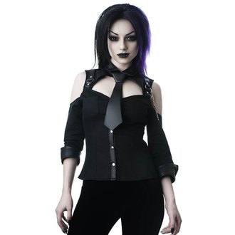 Chemise KILLSTAR - Kalista Teachers Pet - NOIR, KILLSTAR