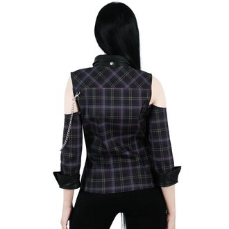Chemise femmes KILLSTAR - Kalista Teachers Pet - TARTAN, KILLSTAR