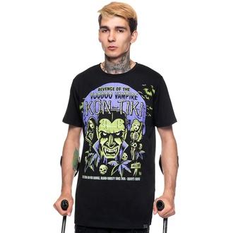 T-shirt unisexe KILLSTAR - Kon-Tiki - NOIR, KILLSTAR