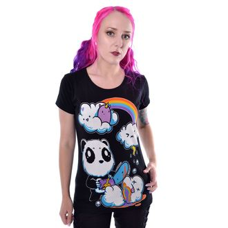 t-shirt pour femmes - CLOUDS - KILLER PANDA, KILLER PANDA