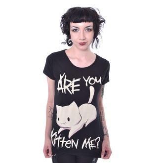 t-shirt pour femmes - KITTEN ME - CUPCAKE CULT, CUPCAKE CULT