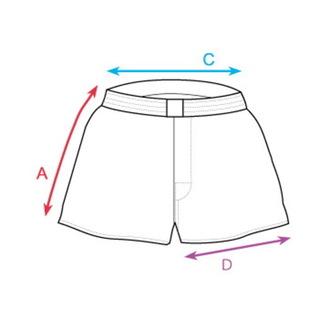 Short boxer HORSEFEATHERS - MANNY (math), HORSEFEATHERS