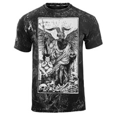 t-shirt hardcore pour hommes - DEVIL - AMENOMEN - OMEN094KM ALLPRINT WHITE
