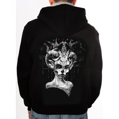 sweat-shirt avec capuche pour hommes - Day of the Dead - ART BY EVIL