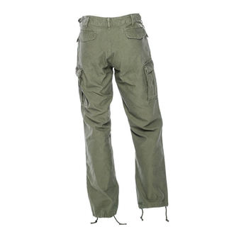 Pantalon pour homme WEST COAST CHOPPERS - M-65 CARGO - Vert militaire, West Coast Choppers