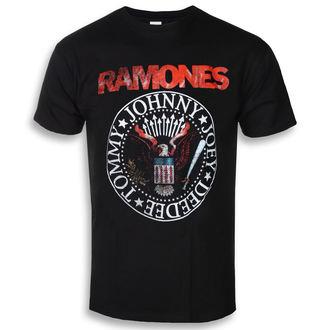 tee-shirt métal pour hommes Ramones - Eagle Seal - ROCK OFF, ROCK OFF, Ramones