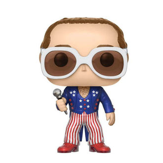 Figurine Elton John - POP !- White & Blue, Elton John