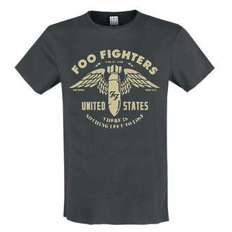 t-shirt pour homme FOO FIGHTERS - ONE BY ONE - CHARCOAL - AMPLIFIED, AMPLIFIED, Foo Fighters
