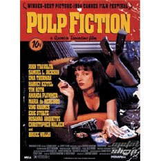 tableau 3D Pulp Fiction (One-sheet) - PPL70031, PYRAMID POSTERS