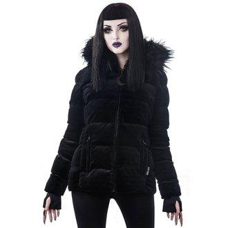 bunda zimní dámská  KILLSTAR - Lisa Luna - BLACK, KILLSTAR