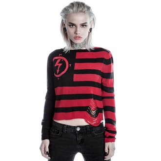 pull pour femmes KILLSTAR - MARILYN MANSON - Little Horn - Noir, KILLSTAR, Marilyn Manson