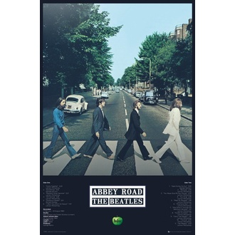 Affiche THE BEATLES - ABBEY ROAD TRACKS - GB posters, GB posters, Beatles