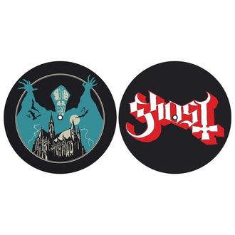 Tampon lecteur vinyles (ensemble de 2pcs) GHOST - OPUS EPONYMOUS - LOGO - RAZAMATAZ, RAZAMATAZ, Ghost