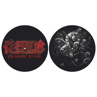 Tampon lecteur vinyles (ensemble de 2pcs) KREATOR - PLEASURE TO KILL - RAZAMATAZ, RAZAMATAZ, Kreator