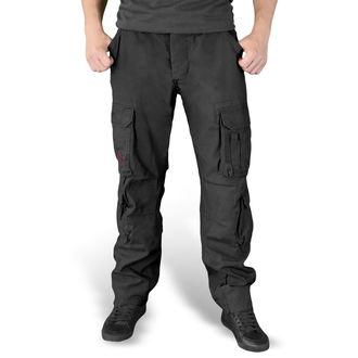 pantalon pour hommes SURPLUS - AIRBORNE - SLIMMY SCHWARZ, SURPLUS