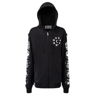 sweat-shirt avec capuche unisexe - Luna Morte Phases - KILLSTAR - K-HOD-M-2605