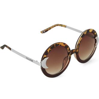 Des lunettes de soleil KILLSTAR - Lunar Doll - Écaille de tortue, KILLSTAR