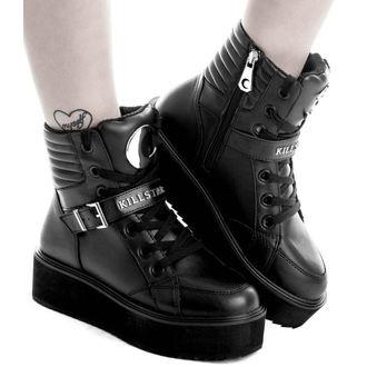 chaussures à semelles compensées unisexe - LUNA HIGH TOPS - KILLSTAR, KILLSTAR