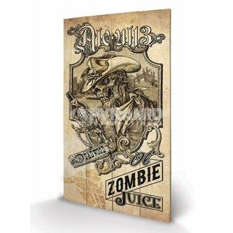 en bois tableau Alchemy (Zombie Juice) - de pyramides Affiches, ALCHEMY GOTHIC