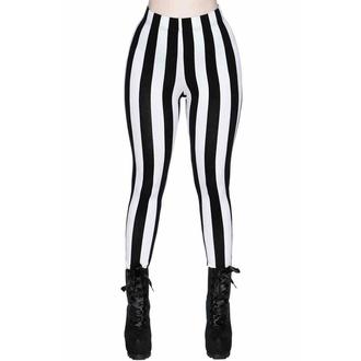 Pantalon pour femmes (leggings) KILLSTAR - Lydia - STRIPE, KILLSTAR
