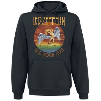 sweat-shirt avec capuche pour hommes Led Zeppelin - USA Tour 1975 - NNM, NNM, Led Zeppelin