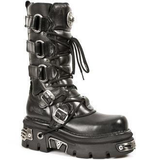 bottesen cuir - Girdle Boots (474-S1) Black - NEW ROCK, NEW ROCK
