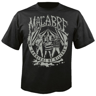T-shirt pour hommes MACABRE - Carnival of killers - NUCLEAR BLAST, NUCLEAR BLAST