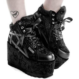 chaussures à semelles compensées pour femmes - MALICE PLATFORM TRAINERS - KILLSTAR, KILLSTAR