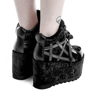 chaussures à semelles compensées pour femmes - MALICE PLATFORM TRAINERS - KILLSTAR