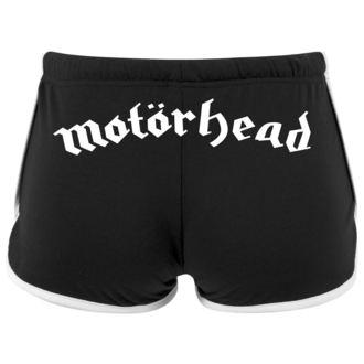 Short Motörhead pour femmes - Logo - URBAN CLASSICS, NNM, Motörhead