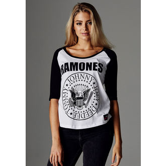tee-shirt métal pour femmes Ramones - URBAN CLASSICS - URBAN CLASSICS, NNM, Ramones