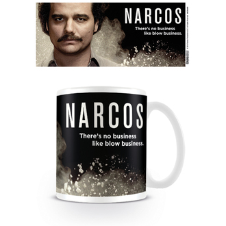 Mug Narcos - There's no business like blow business - PYRAMID POSTERS, PYRAMID POSTERS
