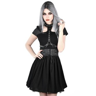 Robe KILLSTAR - MIDNIGHT MUSE HARNESS - NOIR, KILLSTAR