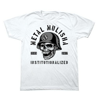 tee-shirt street pour hommes - INSTITUTIONLIZED - METAL MULISHA - M1851831.01, METAL MULISHA