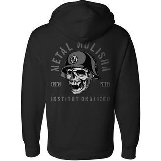 sweat-shirt avec capuche pour hommes - INSTITUTIONALIZED - METAL MULISHA