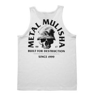 Sommet Pour des hommes METAL MULISHA - BUILT - WHT, METAL MULISHA