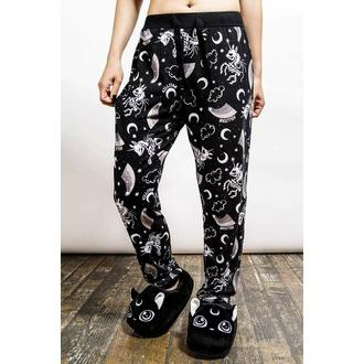 Pantalon pour femmes (pyjamas) KILLSTAR - Moonbow Lounge - Noir, KILLSTAR