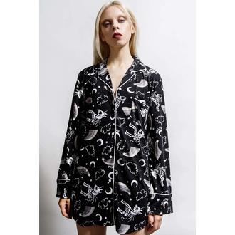 Chemise pour femme (pyjamas) KILLSTAR - Moonbow Sleep - Noir, KILLSTAR