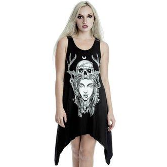 Robe tunique pour femmes KILLSTAR - Lune Magique - NOIR, KILLSTAR