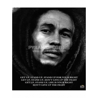 Affiche - Bob Marley (Get Up, Stand Up) - MPP50072, PYRAMID POSTERS, Bob Marley