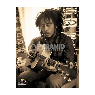 affiche Bob Marley (Sitting) - MPP50272, PYRAMID POSTERS, Bob Marley