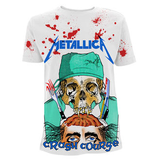 tee-shirt métal pour hommes Metallica - Crash Course In Brain Surgery - - RTMTLTSWAOCRA