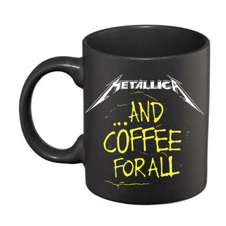 Mug céramique Metallica - And Coffee For All - Black, NNM, Metallica