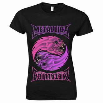 t-shirt pour femmes Metallica - Yin Yang Violet - Noir, NNM, Metallica