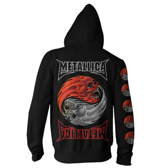 Sweat à capuche pour hommes Metallica - Yin Yang - Noir, NNM, Metallica